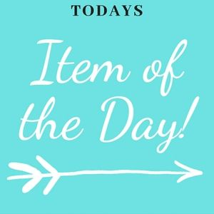 ITEM OF THE DAY LISTED TO RIGHT OF THIS POST!